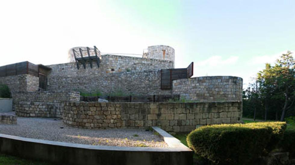 Parque de Castillo en Burgos