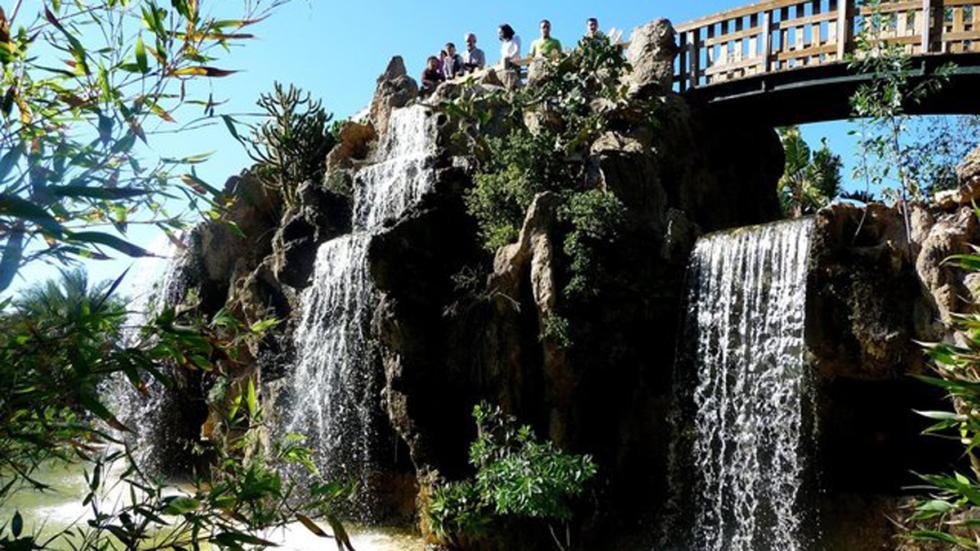 Parque Genovés en Cádiz