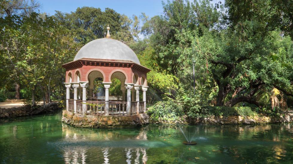 Parque de Maria Luisa en Sevilla