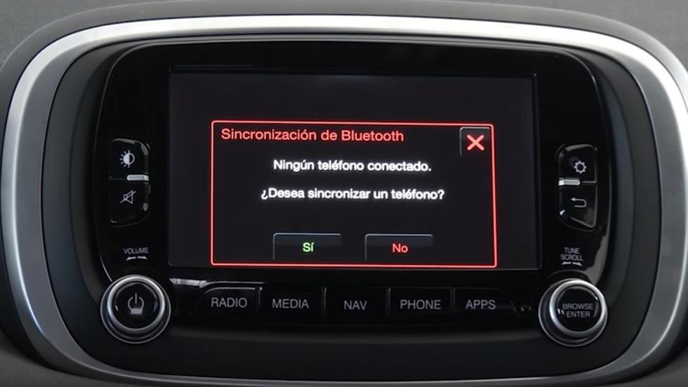 teléfono del Sistema Uconnect