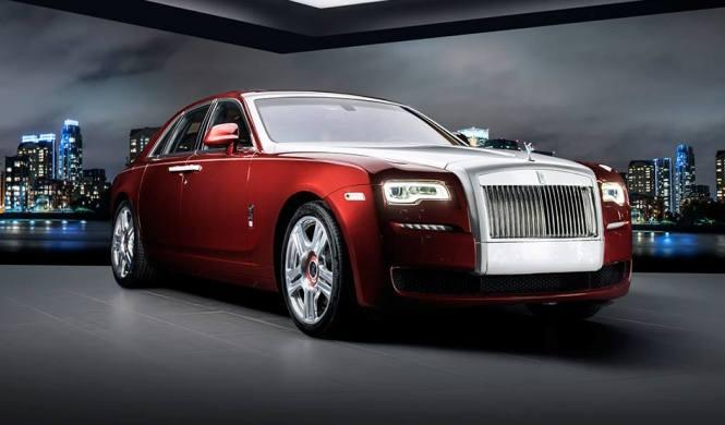 Rolls-Royce Ghost Red Diamond Edition