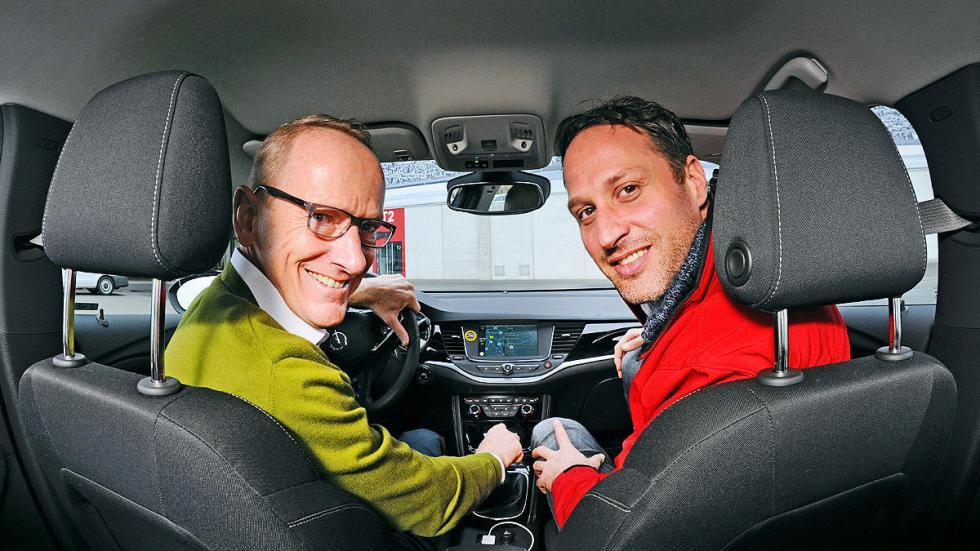 Primera prueba: Opel Astra Sports Tourer asientos