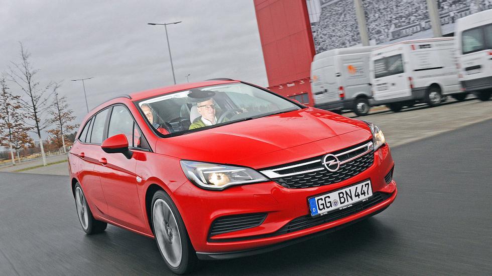 Primera prueba: Opel Astra Sports Tourer morro