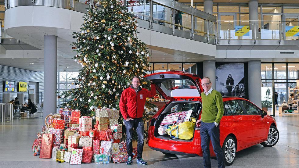Primera prueba: Opel Astra Sports Tourer regalos