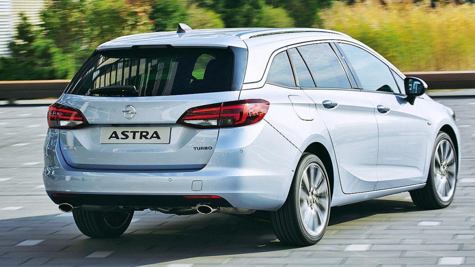 Primera prueba: Opel Astra Sports Tourer zaga