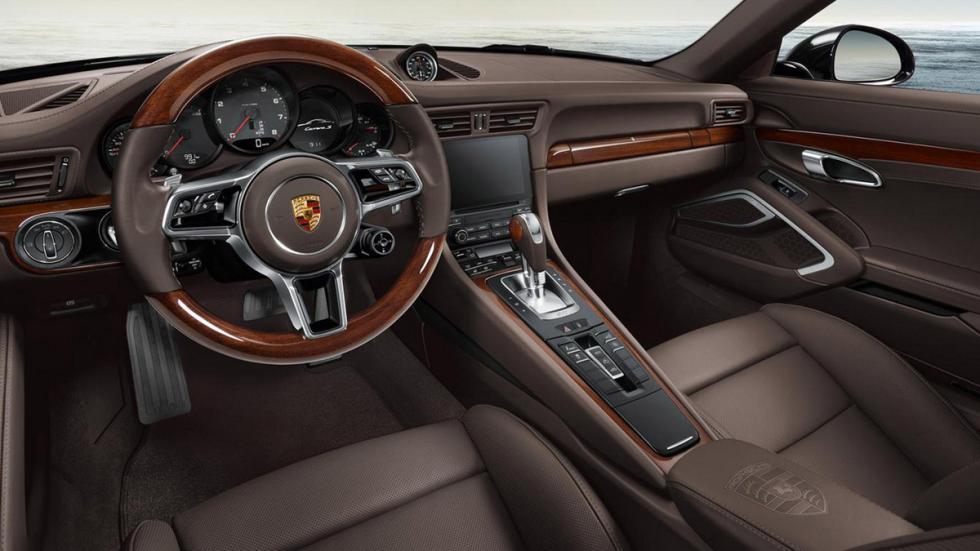 Porsche Exclusive 911 2015 interior madera
