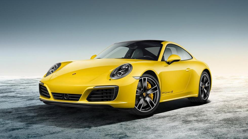 Porsche Exclusive 911 2015 amarillo