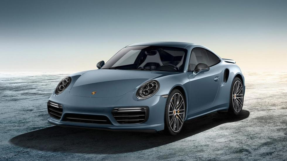 Porsche Exclusive 911 2015 turbo azul