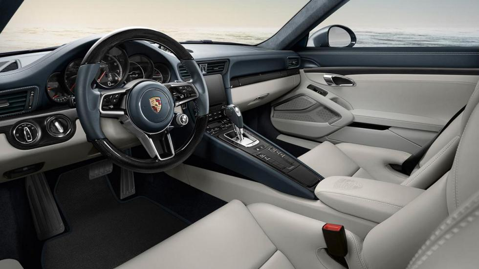 Porsche Exclusive 911 2015 interior beige