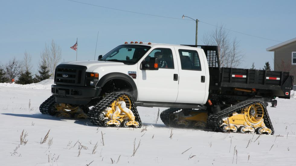 Ford F350 kit de Mattracks