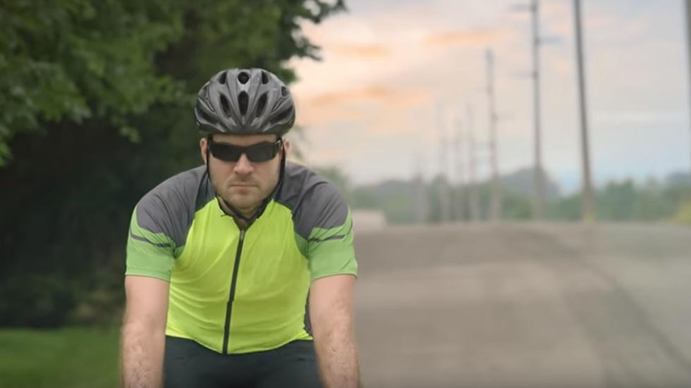 ciclista calzada
