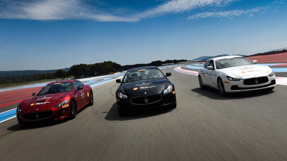 conducción Master Premium de Maserati