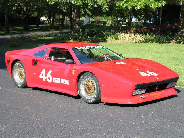 Ferrari 288 GTO tres cuartos delanteros