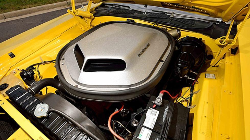 plymouth hemi cuda convertible motor