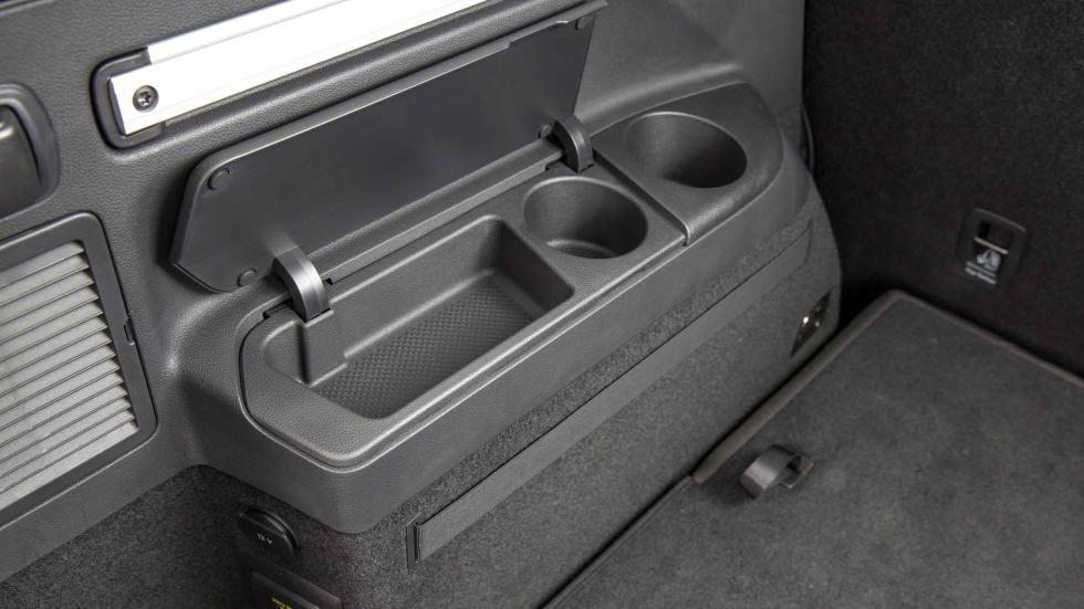 Volkswagen Touran 2015 huecos portaobjetos