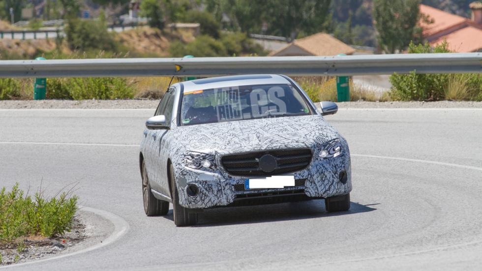Mercedes E 2016 frontal