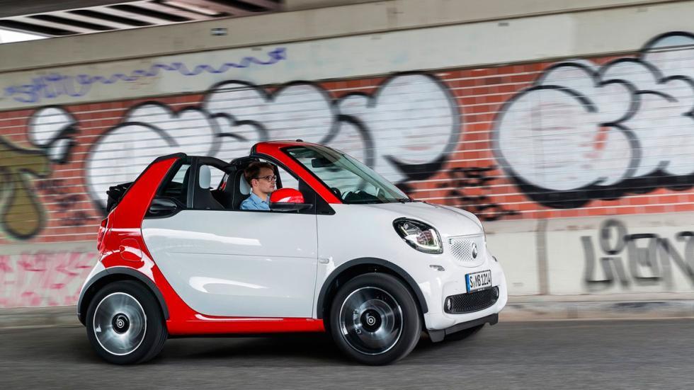 smart fortwo Cabrio 2016 lateral