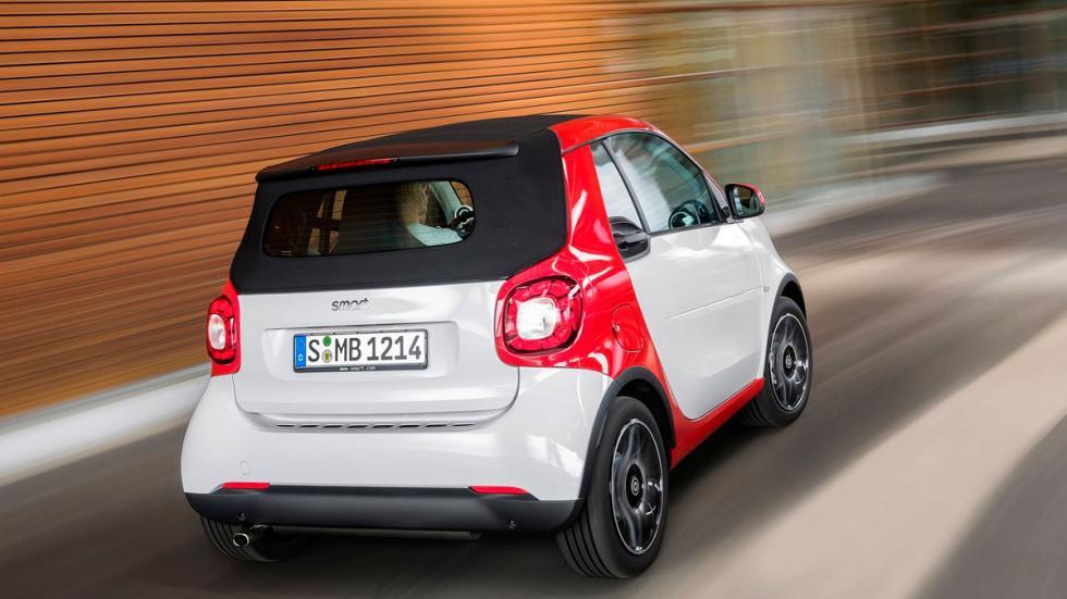 smart fortwo Cabrio 2016 trasera