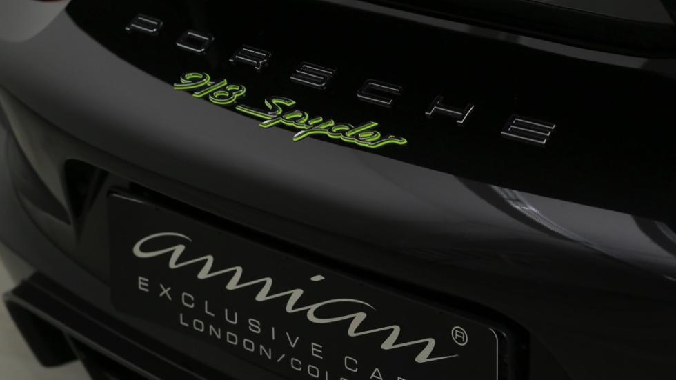 Porsche 918 Spyder logo