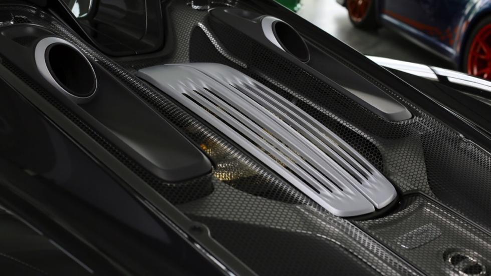 Porsche 918 Spyder motor