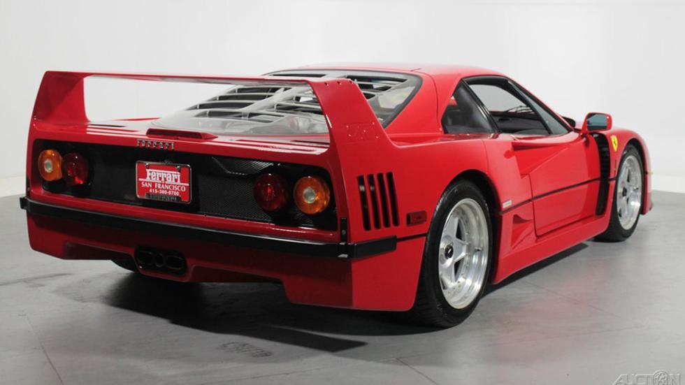 Ferrari F40 ebay trasera