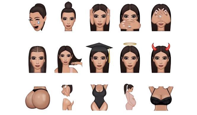 Kimoji, la app de Kim Kardashian 3