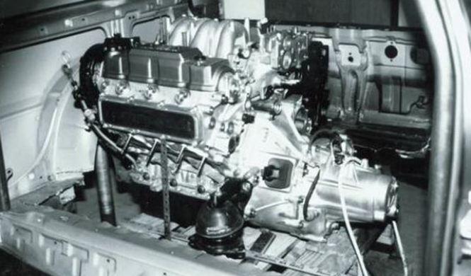Honda Civic con motor V6 central