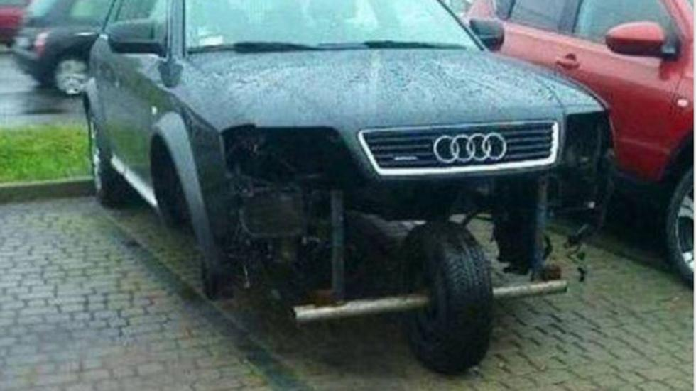 Atrocidades coches a6