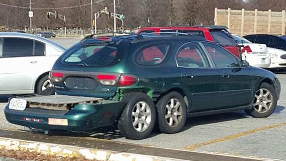 Atrocidades coches seis ruedas