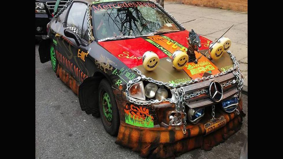 Atrocidades coches mercedes