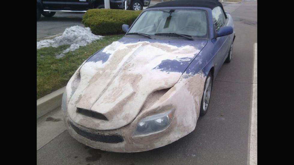 Atrocidades coches morro