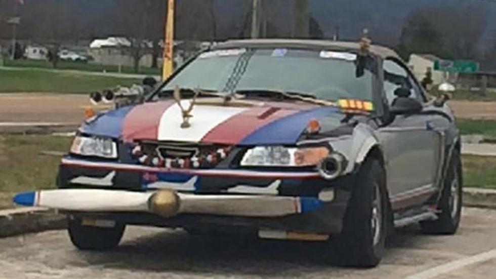 Atrocidades coches mustang
