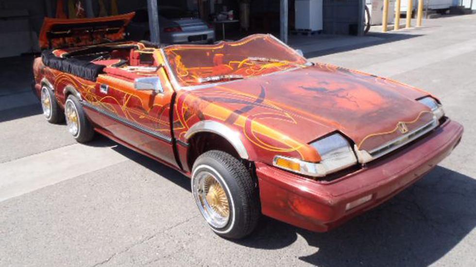Atrocidades coches seis ruedas rover