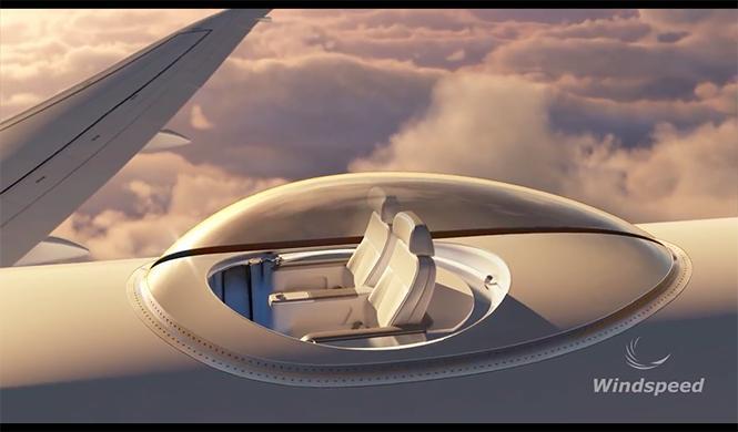 SkyDeck, primera clase premium avión