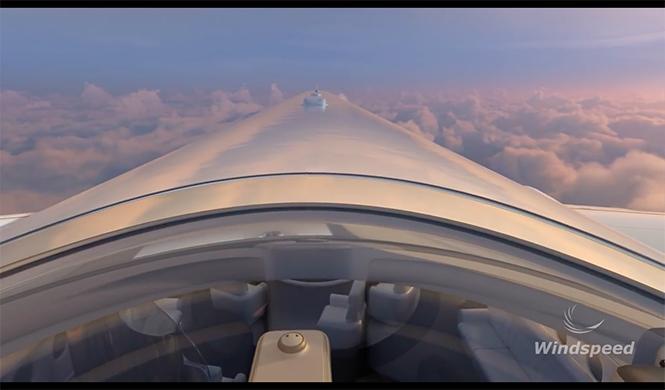 SkyDeck, primera clase premium avión 2