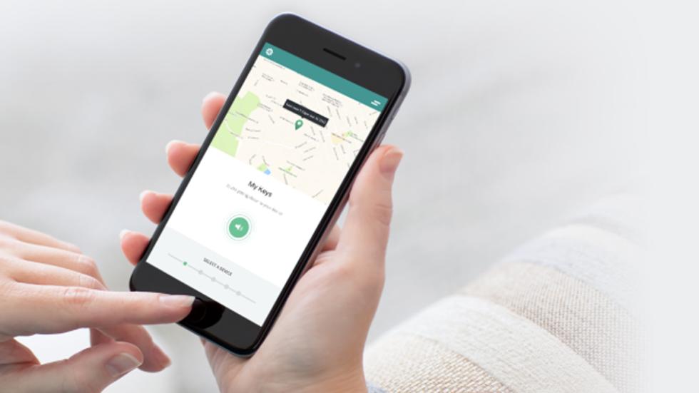 app podrás conocer dónde se encuentran tus cosas