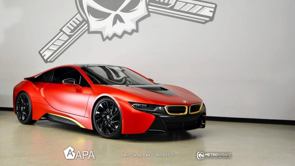 BMW i8 Austin Mahone