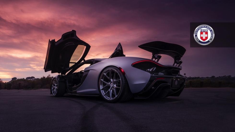 McLaren P1 de HRE Performance Wheels puertas