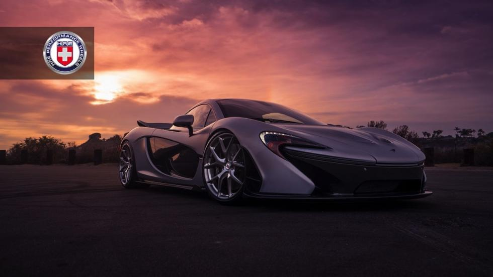 McLaren P1 de HRE Performance Wheels frontal