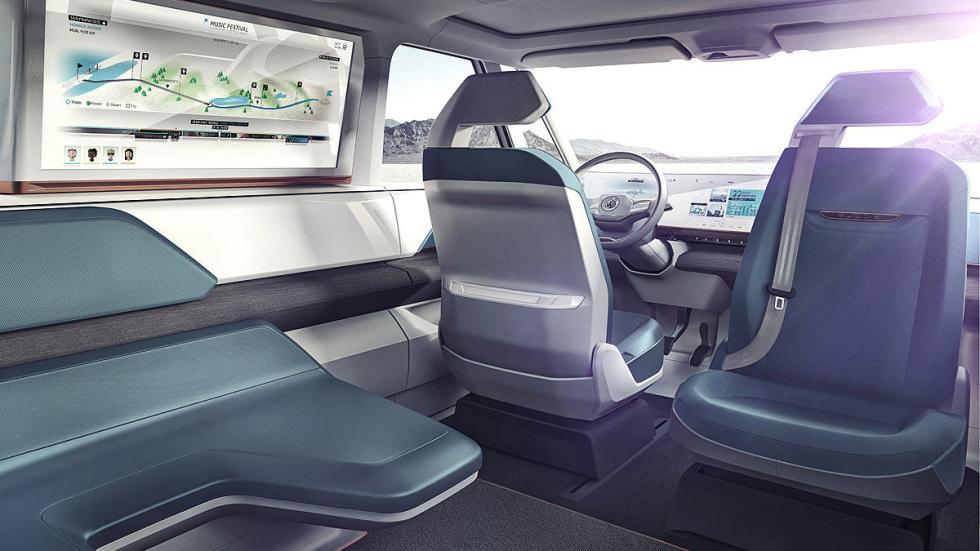 Volkswagen Budd-e interior