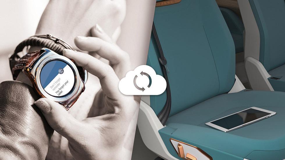 Volkswagen Budd-e lateral reloj