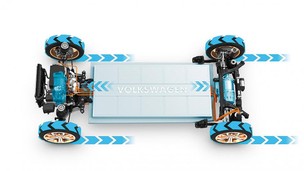 Volkswagen Budd-e ruedas