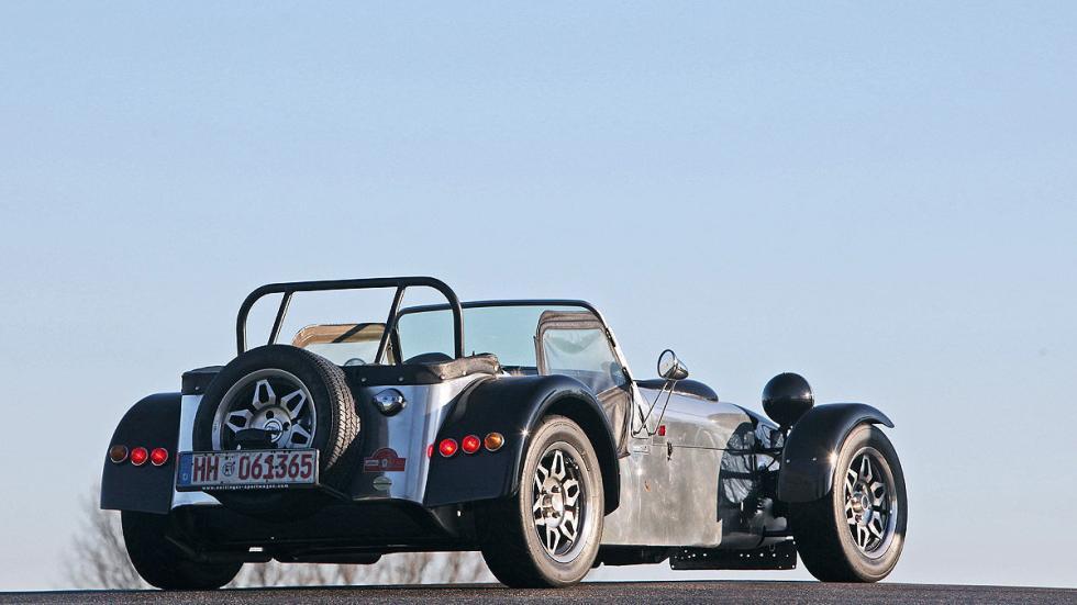 Prueba radical: Caterham Super Seven lateral rueda zaga