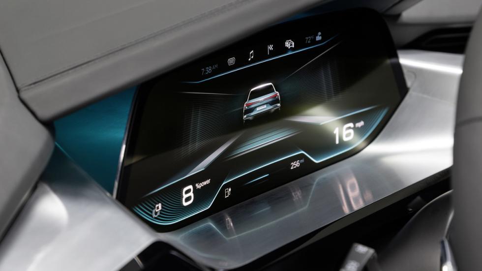 Cámara de visión trasera del nuevo Audi