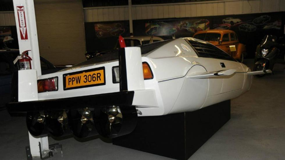 Hélices del Lotus Esprit de James Bond