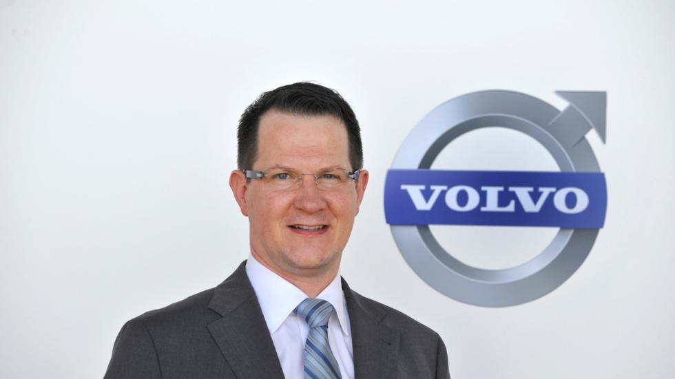 thomas müller, presidente de sistemas electricos y electronicos volvo