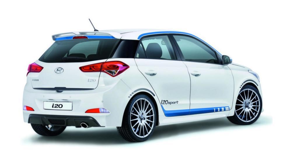 Hyundai i20 sport trasera
