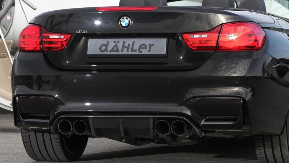 BMW M4 Dähler difusor