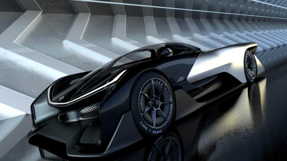 concept faraday future CES 2016