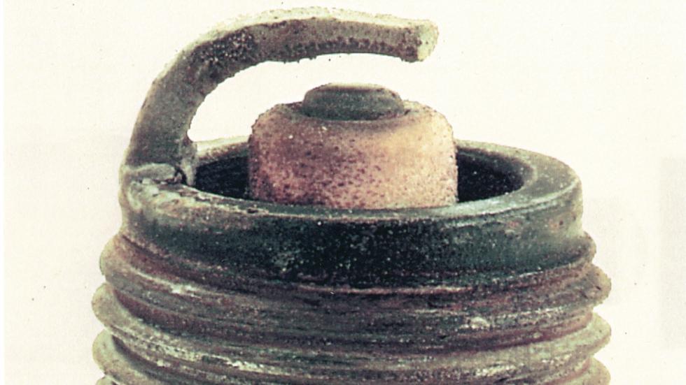 desgaste es típico de usar gasolina con plomo